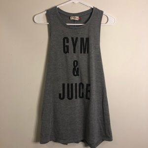 NWOT Gym & Juice Tank